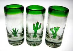 three amigos shot glasses