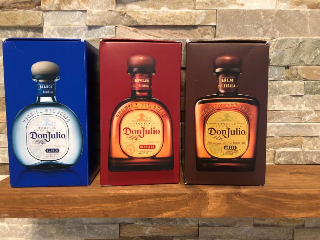 don julio boxes