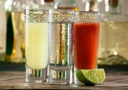sangrita with tequila