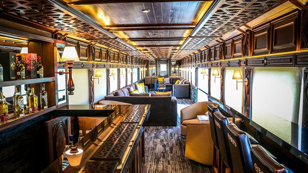 tequila train interior