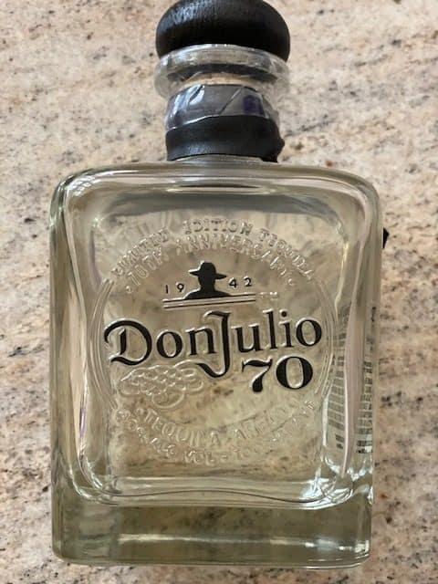 don julio cristalino tequila 70